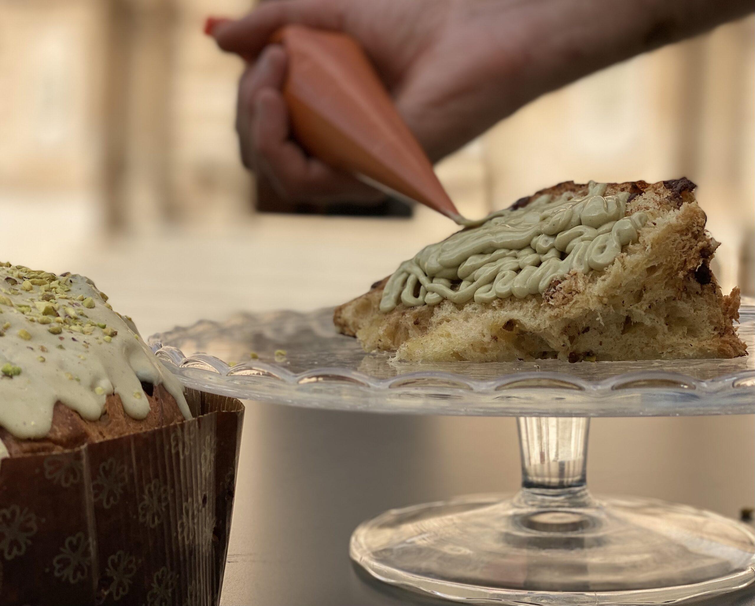 Il panettone artigianale di Scicli al pistacchio